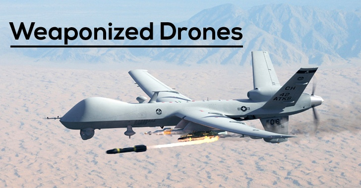 Weaponized Drones Are Now Legal