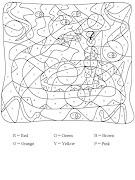 Colorear con letras, Material Didáctico para colorear, Maestras de Kinder, . colorea letras