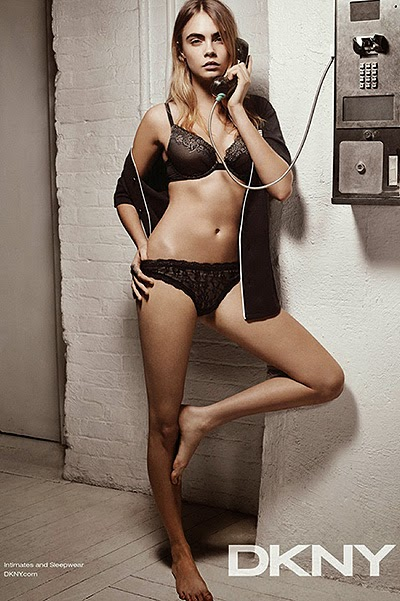 Cara Delevingne in photo shoot lingerie