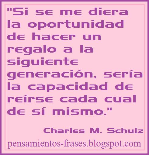frases de Charles M. Schulz