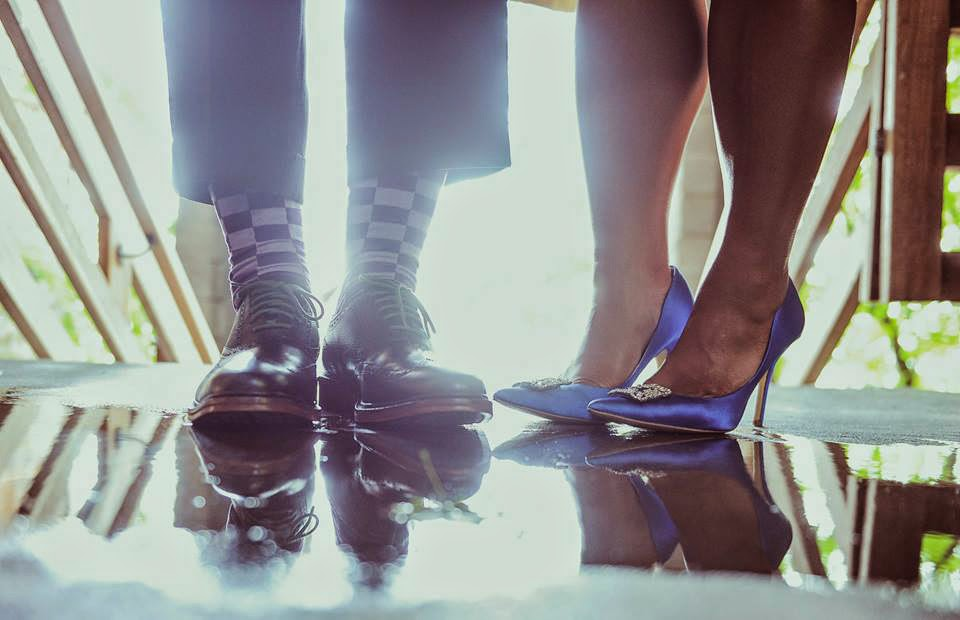 The bride and groom's spiffy wedding shoes - Patricia Stimac,Seattle, Wedding Officiant