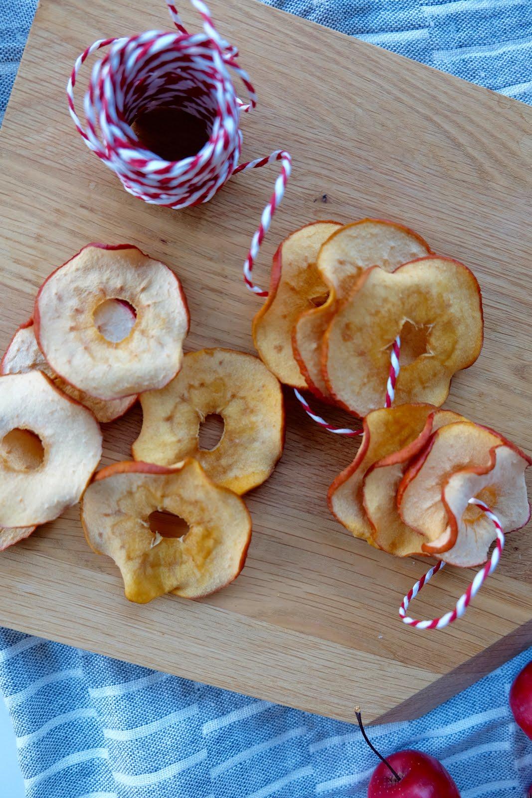 Knusprige Apfelchips