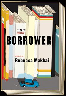Book cover of The Borrower by Rebecca Makkai
