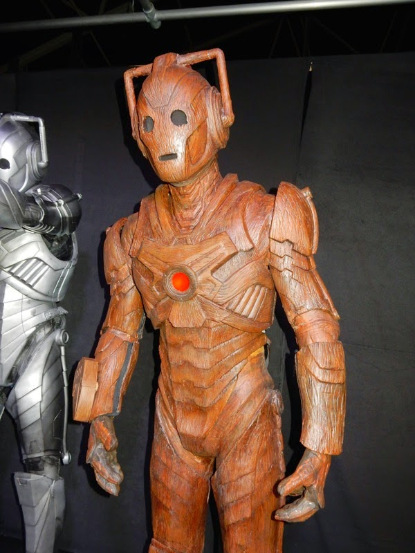 Doctor Who Wooden Cyberman The Time of the Doctor
