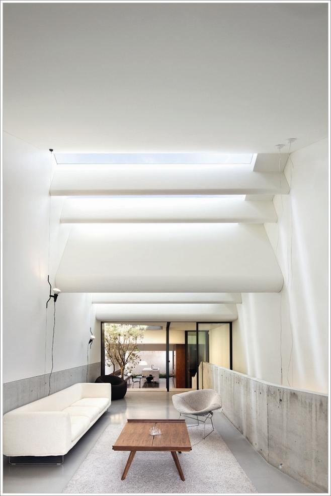 Illuminez Votre Salon Avec Une Lucarne Au Plafond D Cor