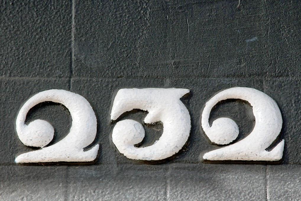 street number 232