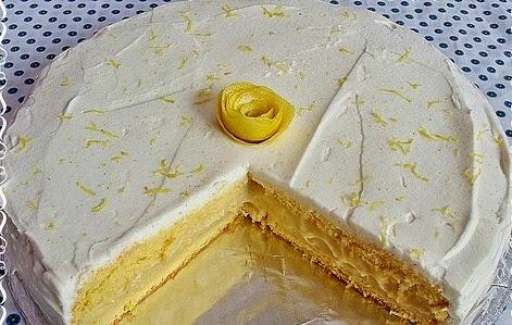 Limonlu Kek Yaş Pasta Tarifi Yapımı
