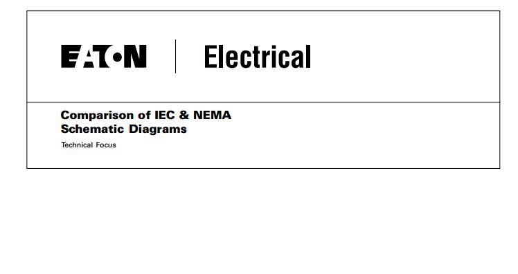 Electrical Engineering Blog  Comparison    of IEC         NEMA       Schematic       Diagrams