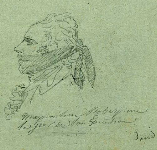 Maximilien Robespierre Drawing Maximilien Robespierre on The