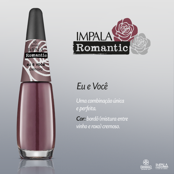 Esmaltes Impala Coleção Romantic Blog Grazi e Suas Maluquices