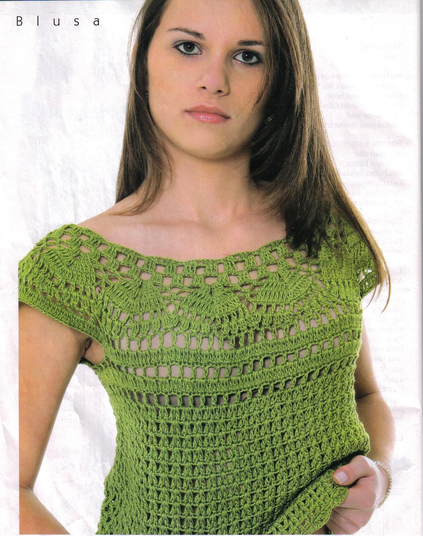 Quiero una blusa de ganchillo!
