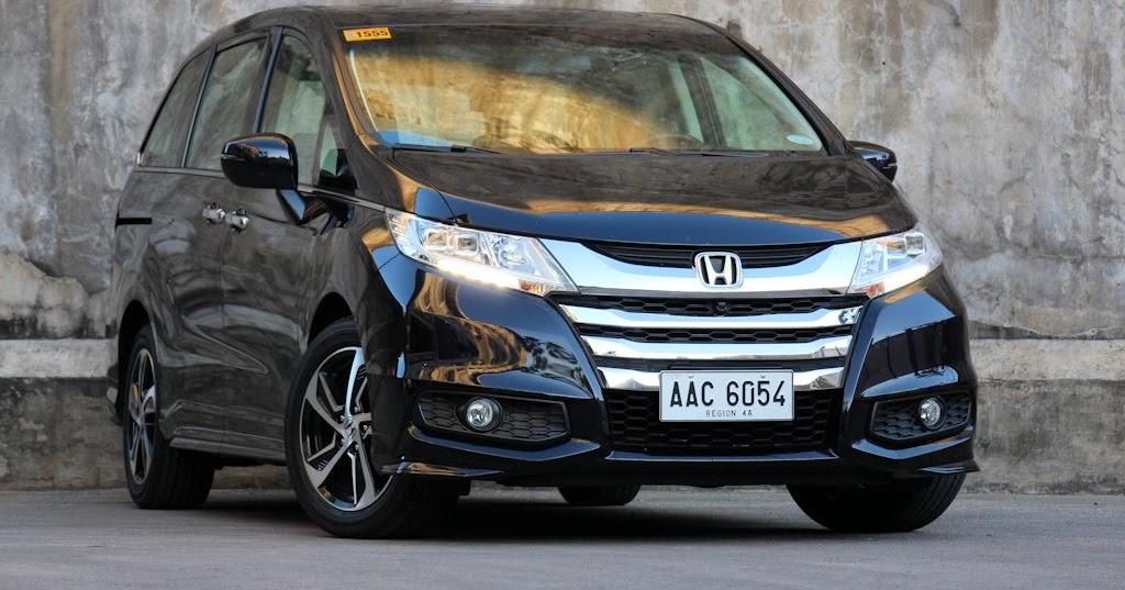 review 2015 honda odyssey ex v navi philippine car news car reviews prices carguide ph. Black Bedroom Furniture Sets. Home Design Ideas