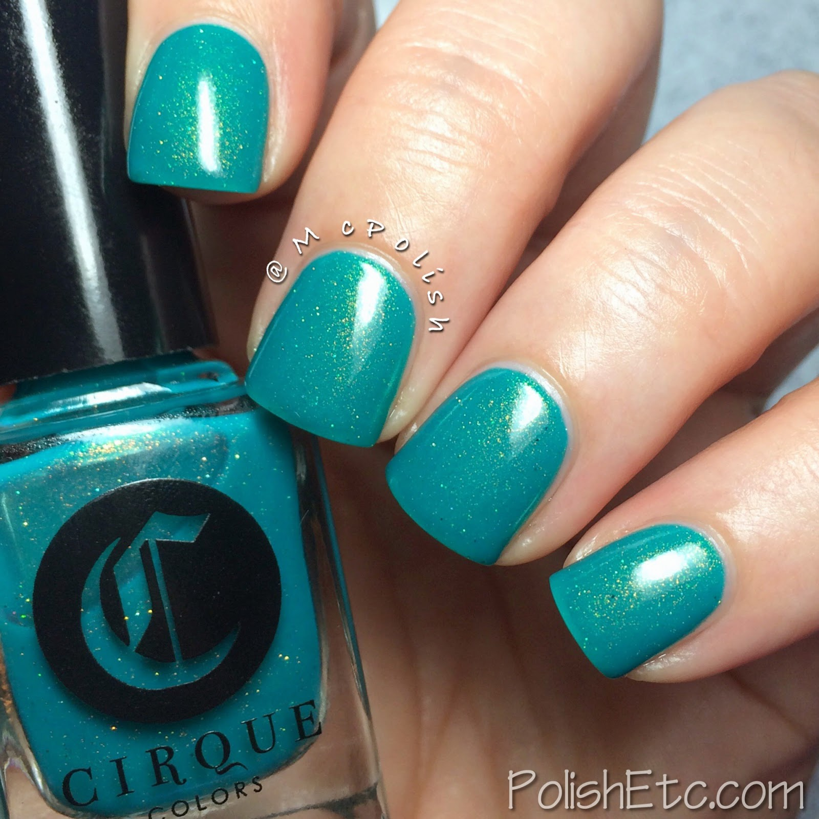 Cirque Colors - Kontiki Collection - McPolish - THICKER THAT WATER