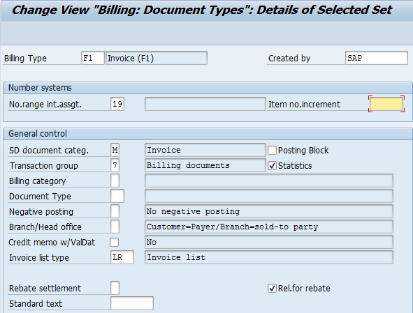 Change or Create Billing Document Types in SAP SD