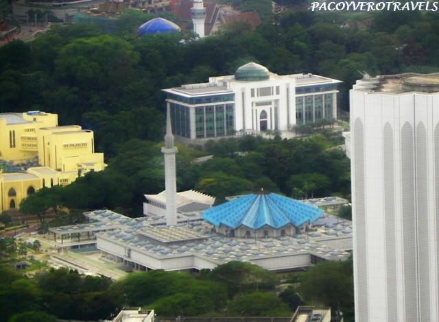Masjid Negara desde la Torre Menara