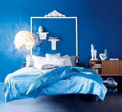 ديكورات زرقاء أنيقة وعصرية لغرف النوم Blue-decor-for-bedro