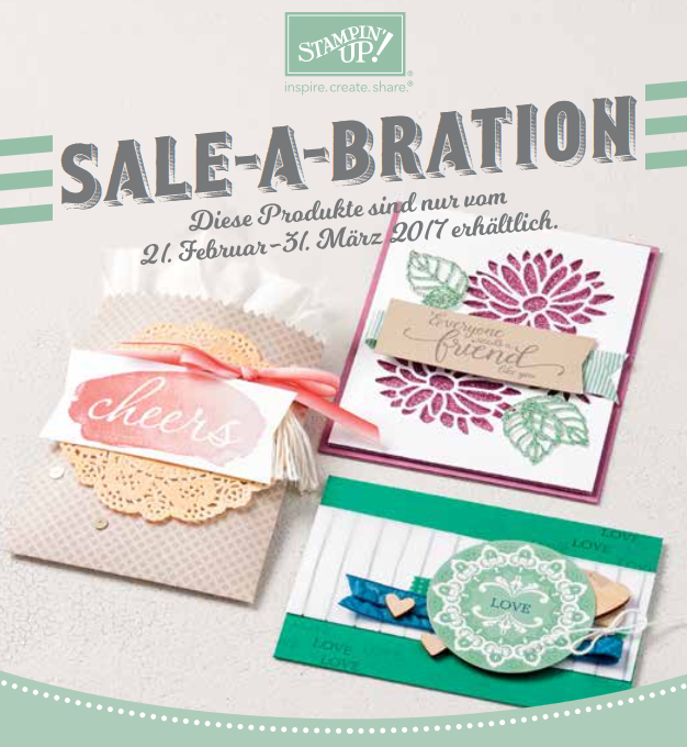 SALE - A - BRATION die 2.