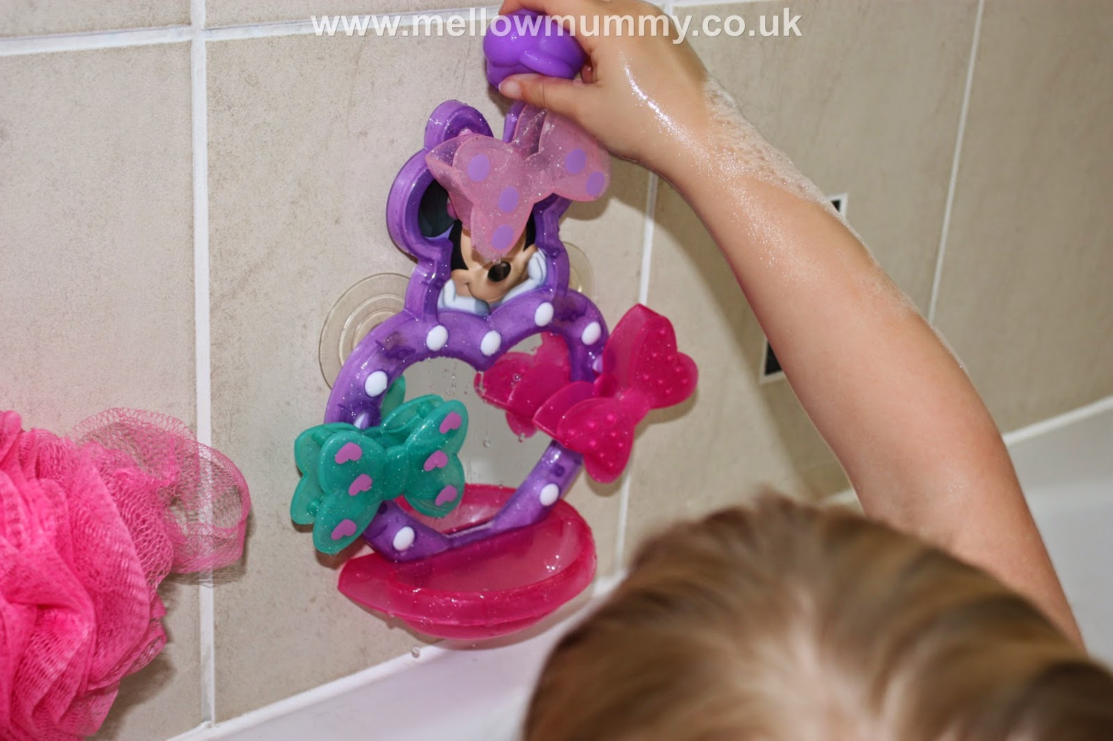 Mellow Mummy Disney Minnie Mouse Bath Toys By Fisher Price A