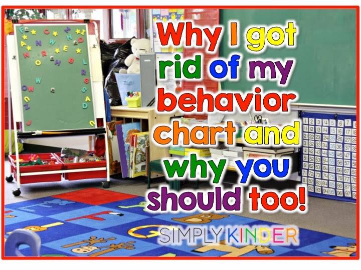 Why I Took My Behavior Chart Off My Wall! - Simply Kinder