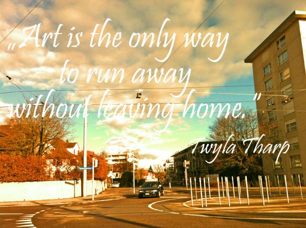 inspiring art quote