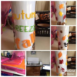 My Autunm vase