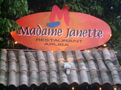 Madame Janette, Aruba