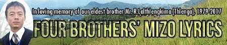Four Brothers' Mizo Lyrics