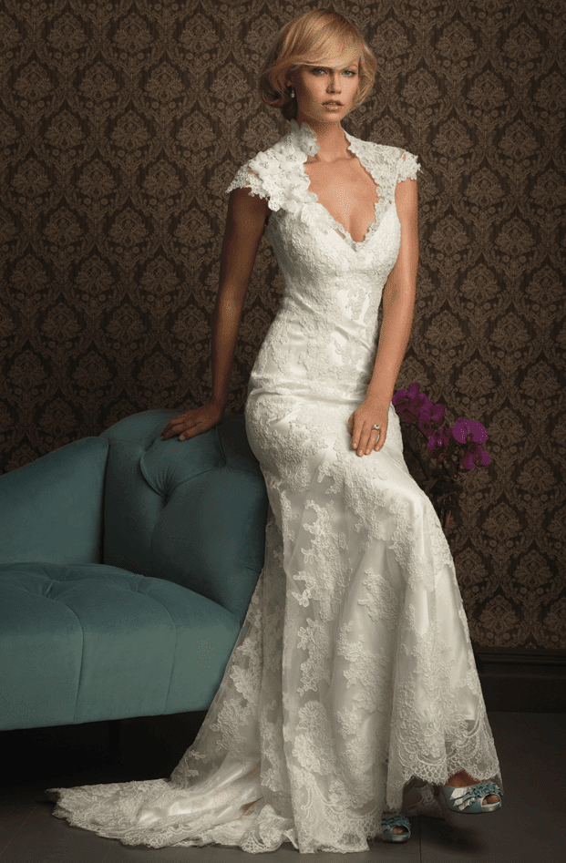 classy lace wedding dresses