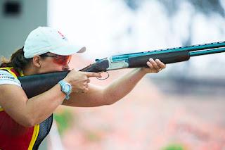 Christine Wenzel - Skeet - Campeonato Mundial de Tiro ao Prato Olímpico 2013 - Tiro Esportivo - Foto: Divulgação/ISSF