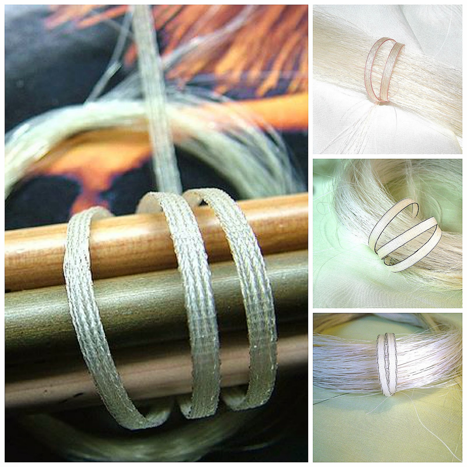 Nannasalmi Horsehair Jewelry By Color