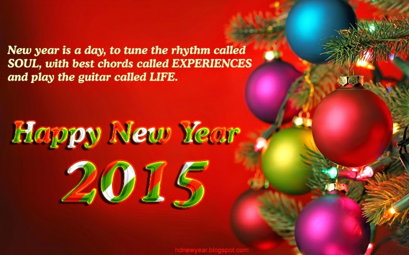 Happy New Year 2015 Inspirational Best Quotes