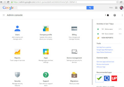 Mendaftar Google Apps for Educations