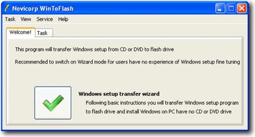 WinToFlash ���� ���� ������ ������