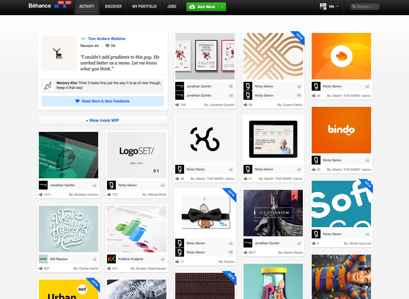 Behance Designers Network