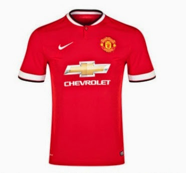 jersey Manchester United 2014/15