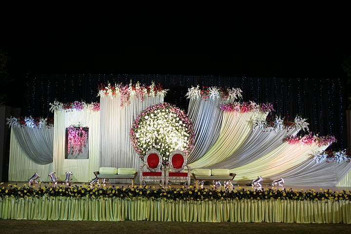 Marriage stage decorations nice for Decoration photos