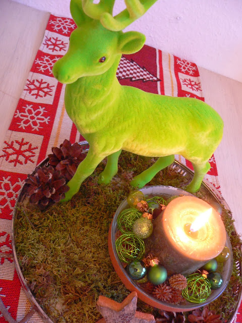 Weihnachten Hirsch