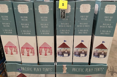 Indoor camping won't be the same with the Pacific Play Tents