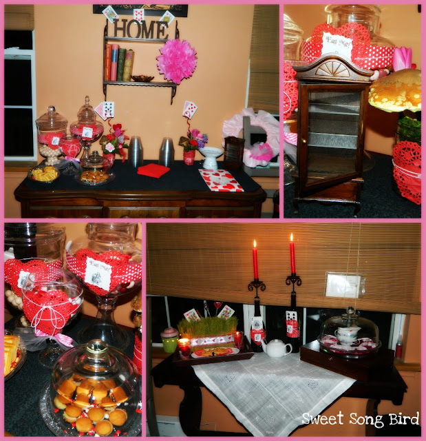 Evey 39 s creations alice in wonderland party for adults for Small birthday party ideas for adults