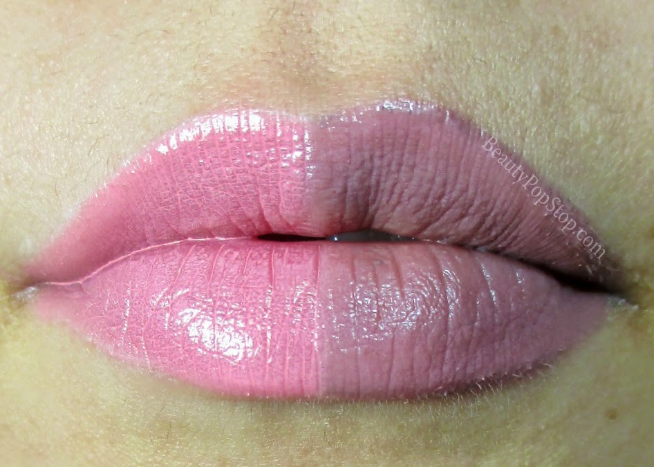 occ tarred and feathered lip tar duo review under occ narcissus lip tar