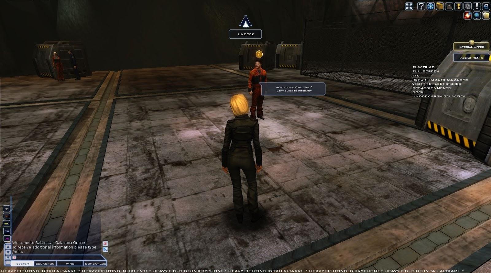 Battlestar Galactica Online - SCPO Tyrol