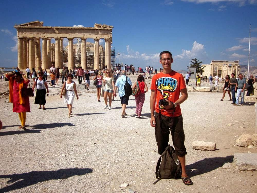 Parthenon and Erectheion in the Acropolis
