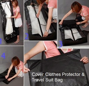 Cover Clothes Protector and Travel Suit Bag
