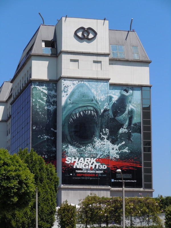 Shark Night 3D billboard