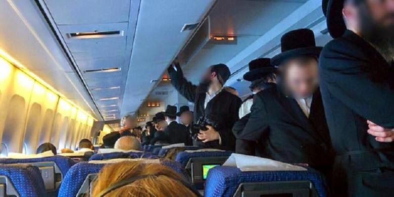 Orang Yahudi Ultra-ortodoks Tolak Duduk Dekat Wanita, Penerbangan Pun Kacau