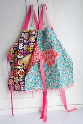 Fat+quarter+child's+apron+tutorial+at+aestheticnest.com