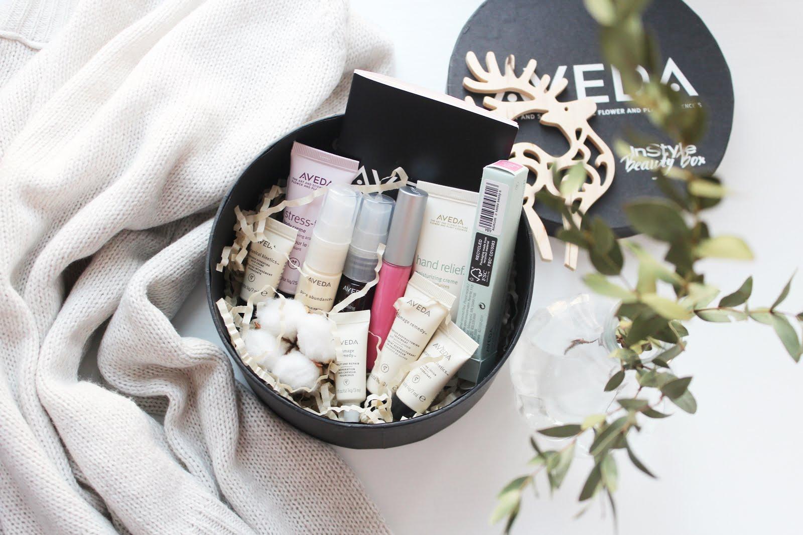 Обзор бьюти-коробочки Aveda от InStyle Beauty Box/МОНОБРЕНДОВАЯ КОРОБОЧКА AVEDA