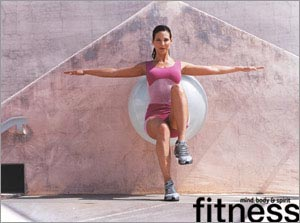 Fitness Ball - 8 actions create the perfect body shape