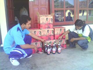 Polisi Sita Miras di Cafe Anda dan Flamboyan