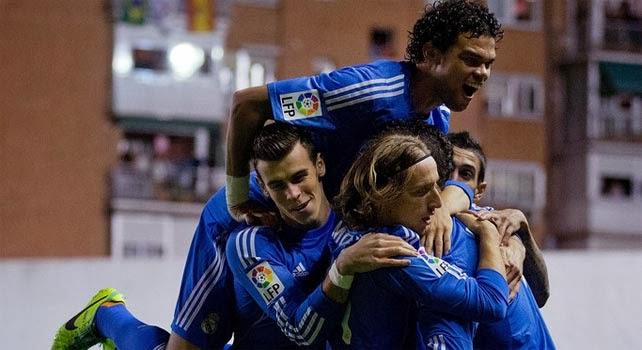 اهداف مباراة ريال مدريد ريال مدريد 5 - 0 ريال بيتيس